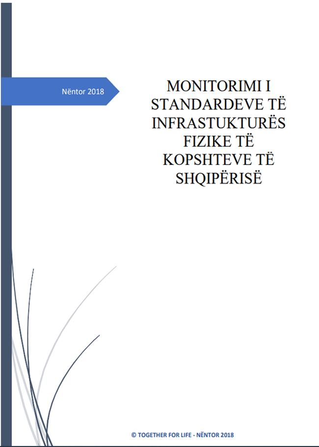 Monitorimi i standardeve të infrastrukturës fizike të kopshteve të Shqipërisë