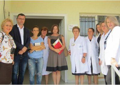 Vizita e ambasadores Gjermane dhe TFL  në  qendrat e pajisura  me panele diellore