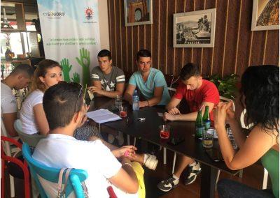 Takim me të rinjtë e Fierit për politikat mjedisore
