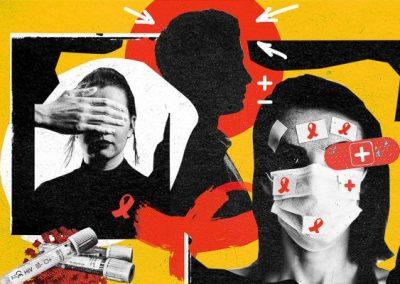 """'Një kthim në të shkuarën"""": Pacientët me HIV/AIDS e vuajnë dyfish pandeminë e COVID-19"""