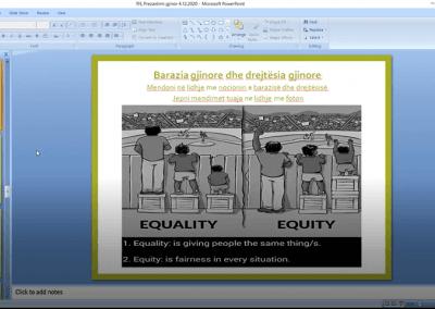 Trajnim: Rritje e ndërgjegjësimit të organizatave të shoqërisë civile rreth çështjeve gjinore